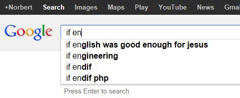 If English