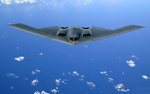 B-2 Bomber in Airl