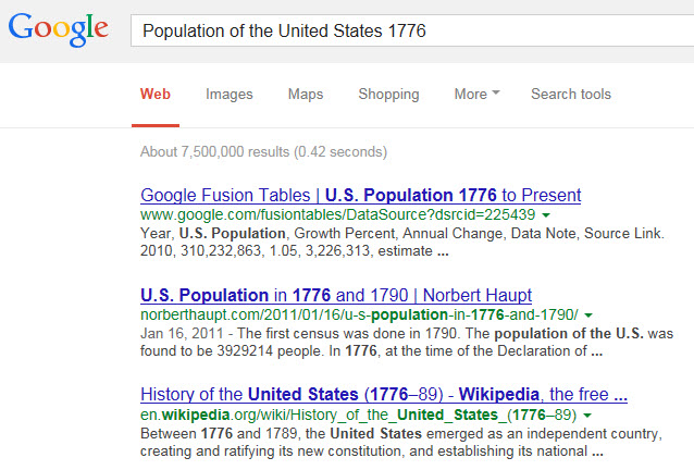 Google 1776