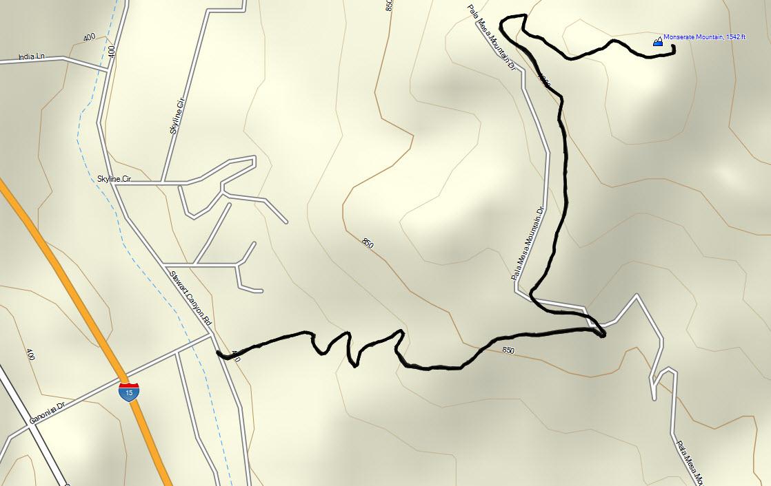 Monserate Hike B