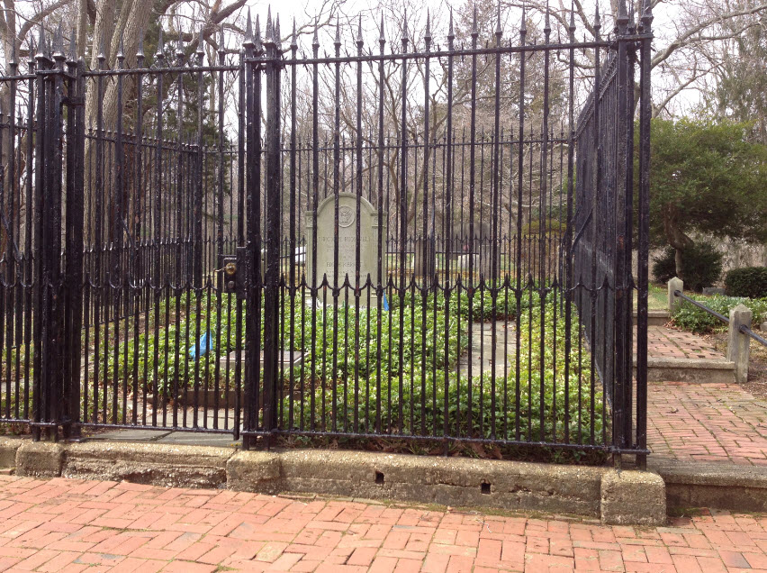 Fenced In Grave