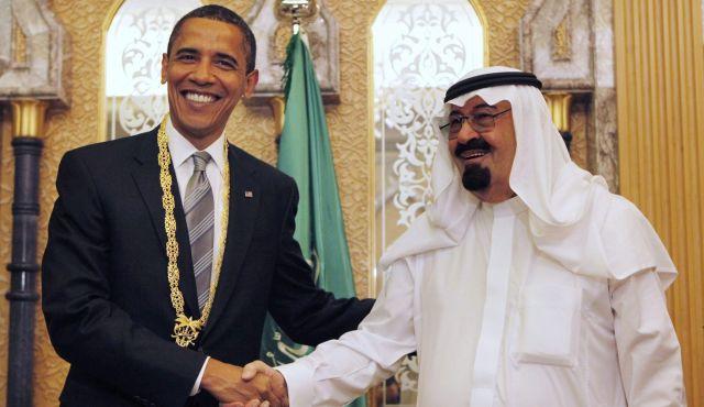Obama with Saudi