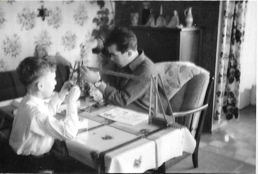 Erector Set Xmas 1965