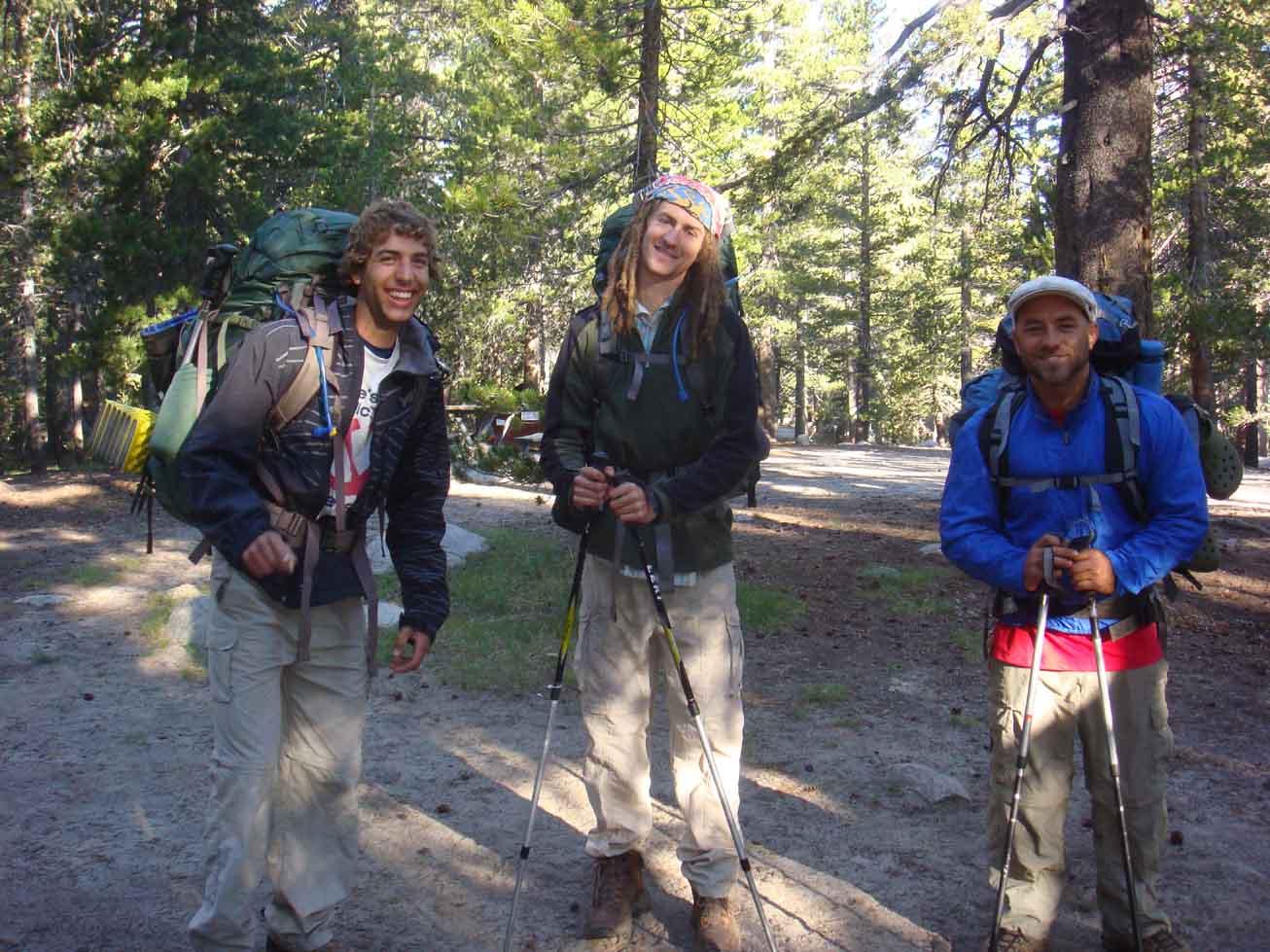 Boys on Trail